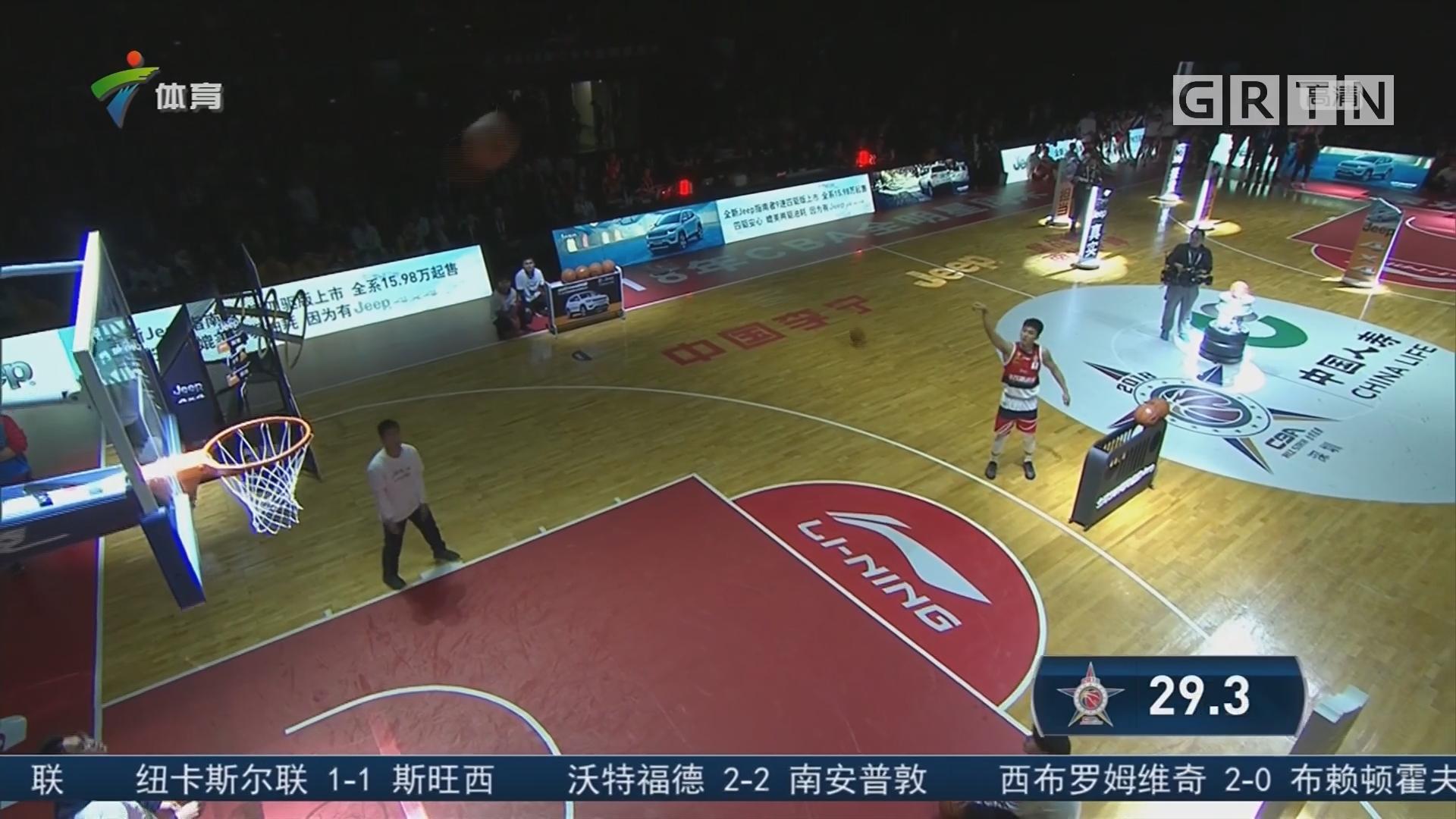 广东体育频道篮球评论员陈阳解说:技巧大赛