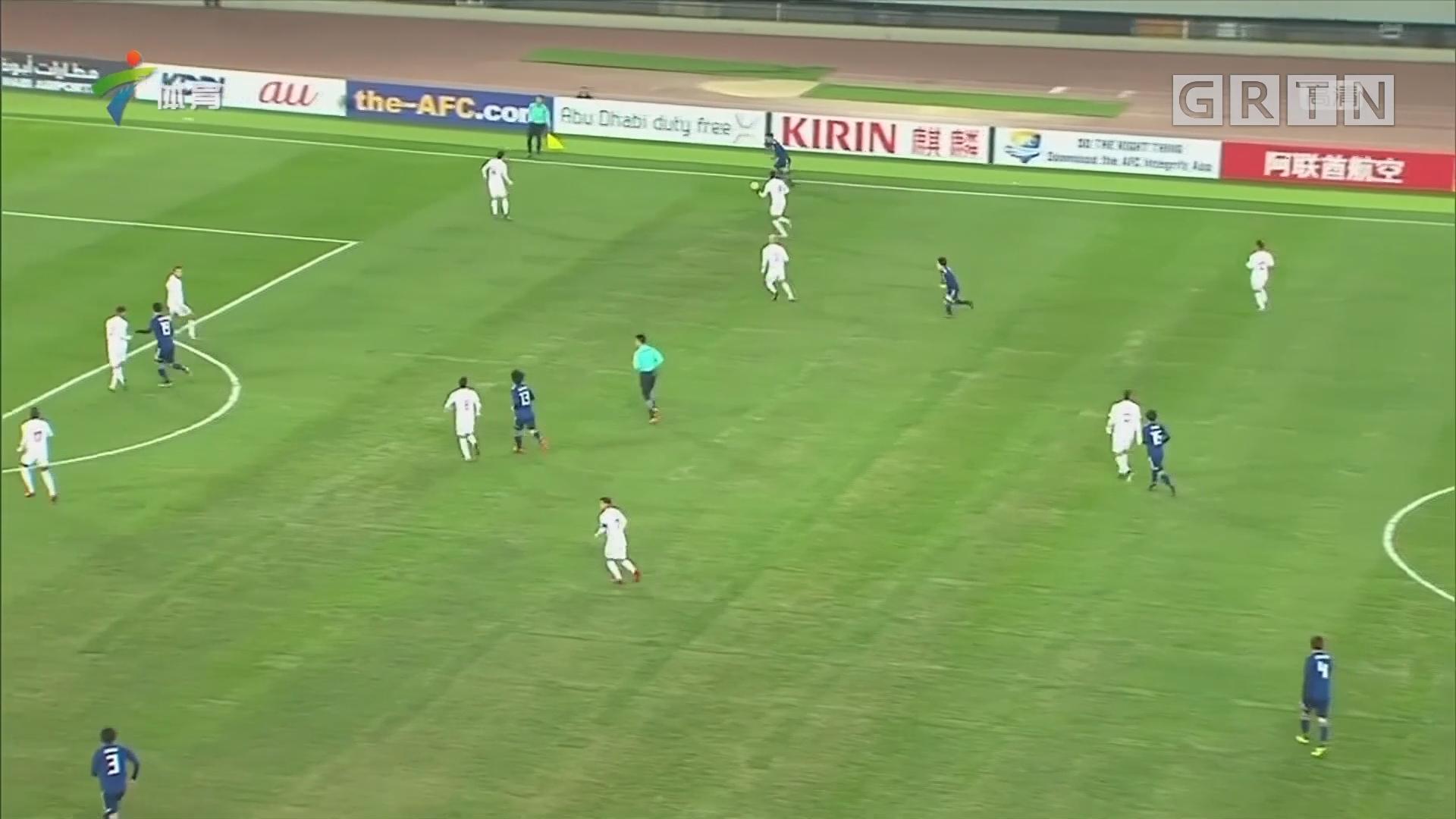 U23亚洲杯 日本小胜巴勒斯坦