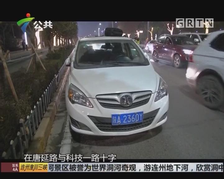 遇交警多人弃车而逃 民警司机上演追逐大战