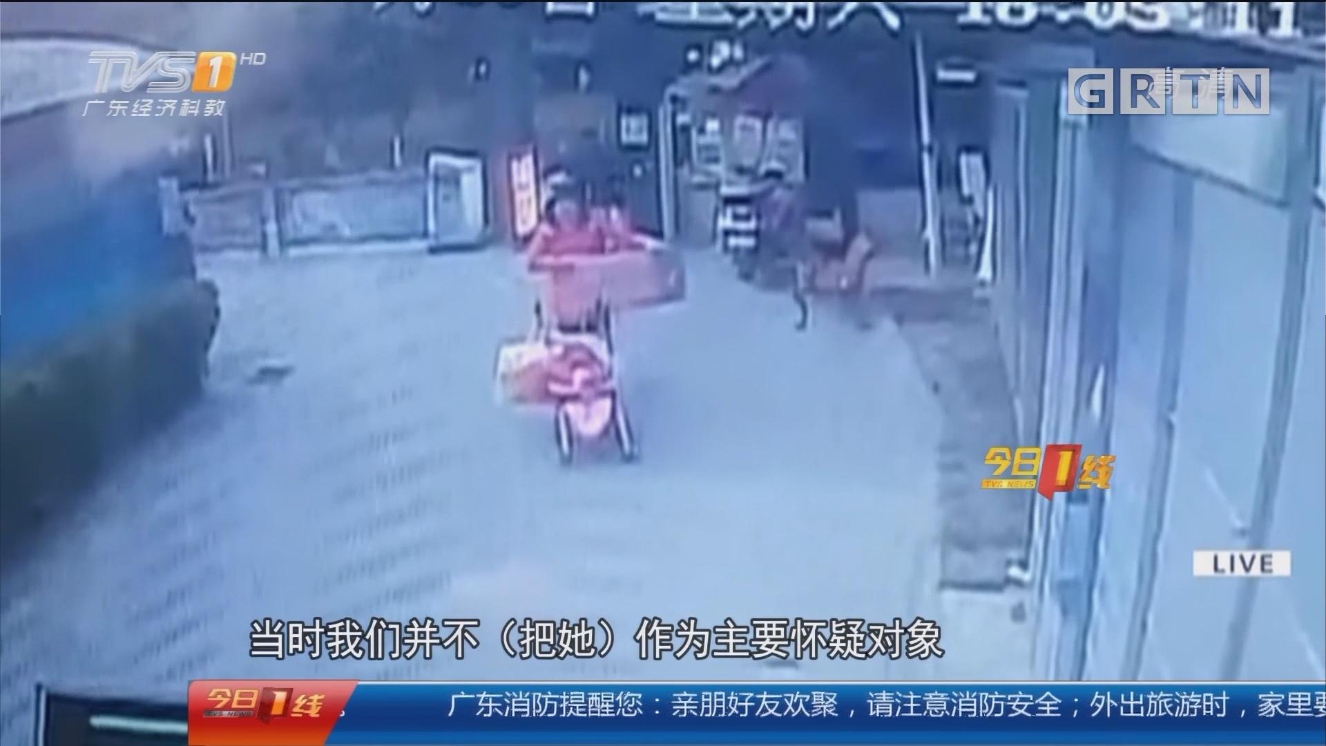 成都:婴儿车做掩护 年轻妈妈狂偷快递