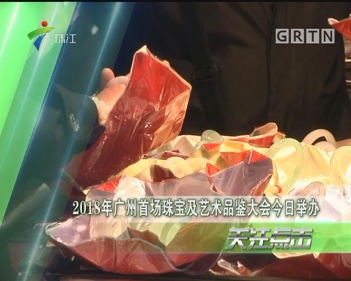 2018年广州首场珠宝及艺术品鉴大会今日举办