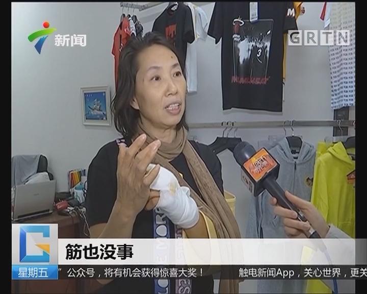 中山:小偷躲商铺厕所被发现 伤人又抢钱