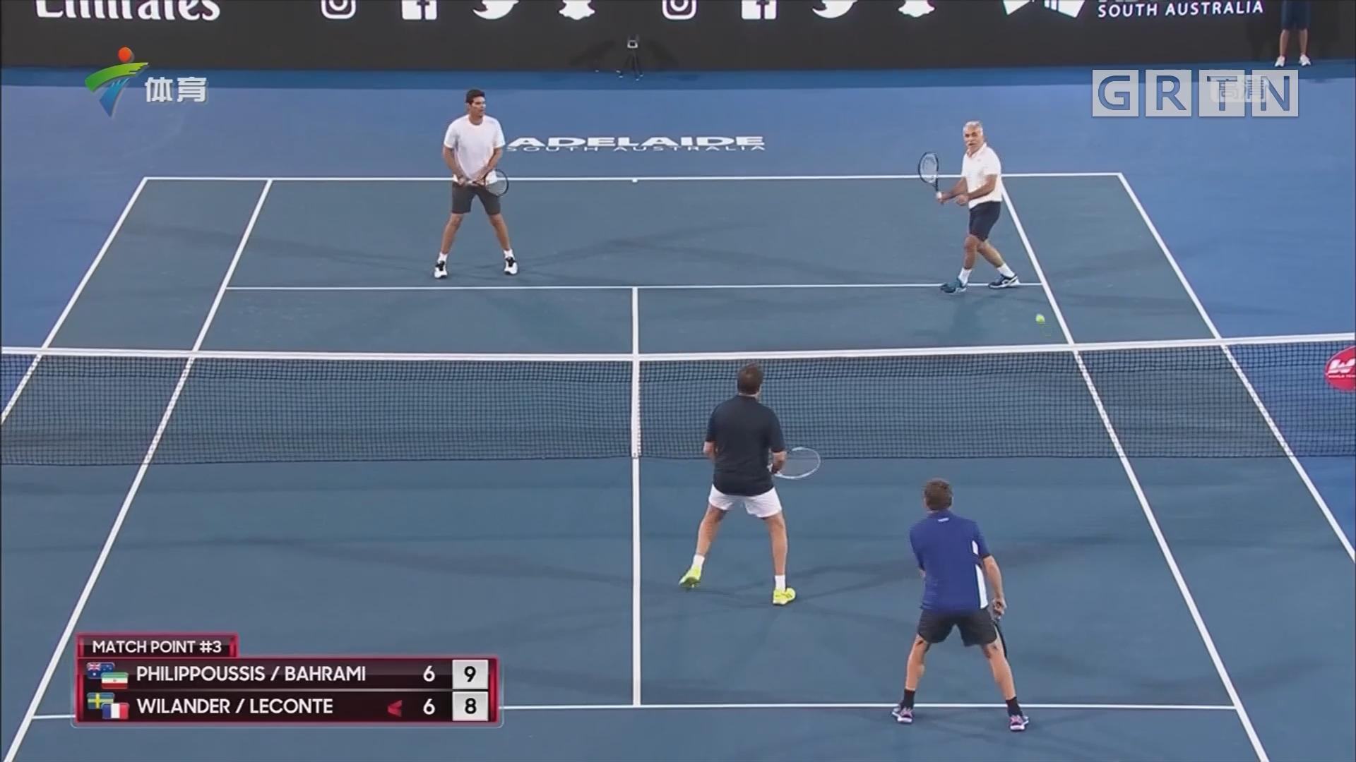 世界网球挑战赛 阿德莱德精彩上演