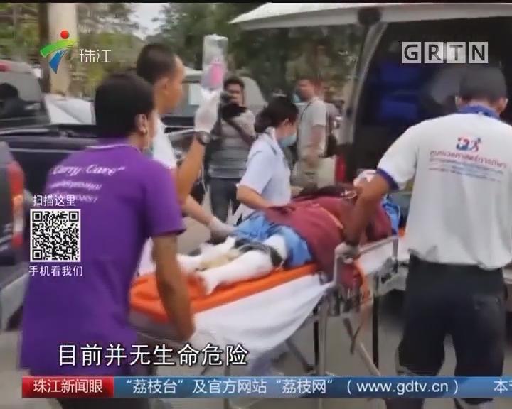 泰国快艇爆炸事故受轻伤中国游客明天回国