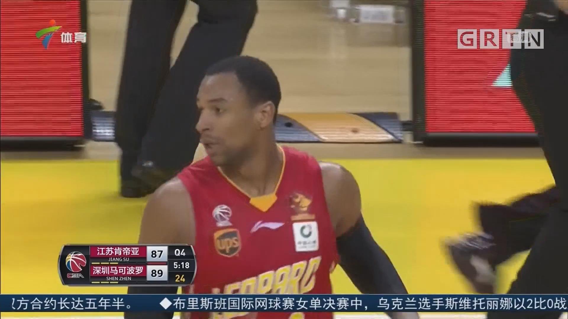李慕豪建功 深圳客场击败江苏