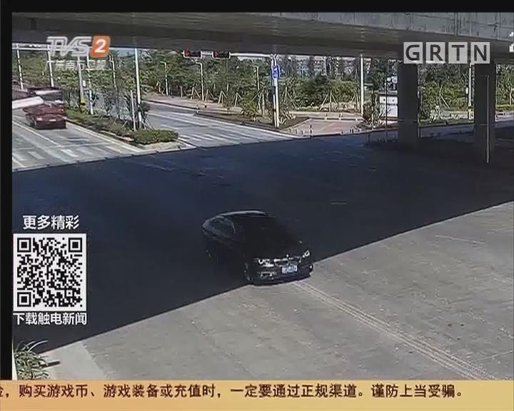 珠海:两车猛烈碰撞 司机都说是绿灯?