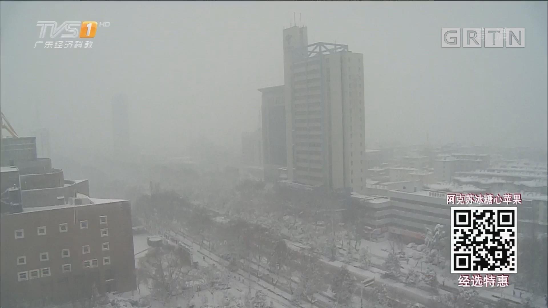 我国中东部暴雪已造成10人死亡 56.7万人受灾