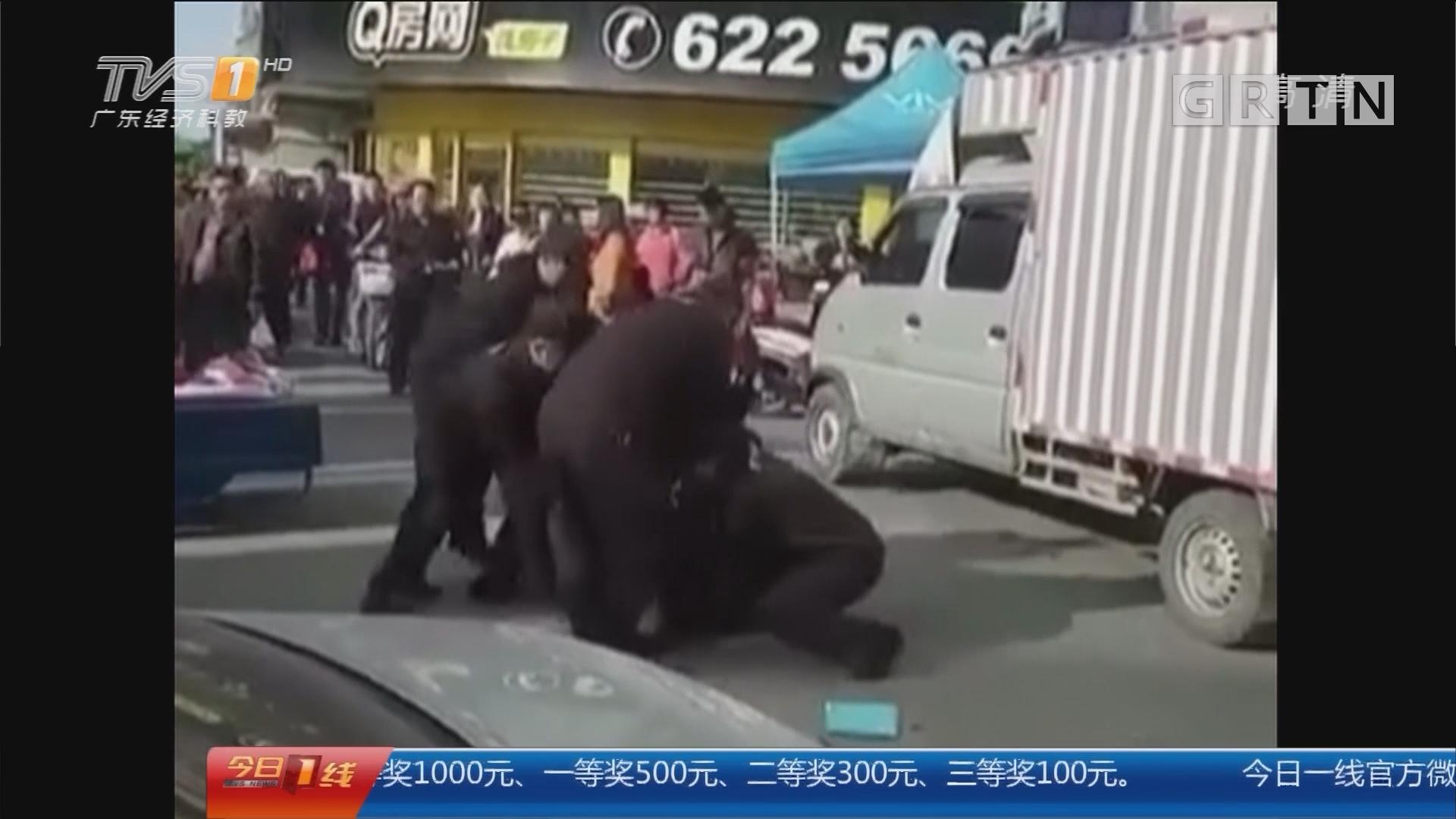 珠海金湾区 街坊质疑:珠海城管为何开深圳车执法?