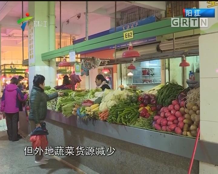 天寒地冻 蔬菜水产减产价格上升