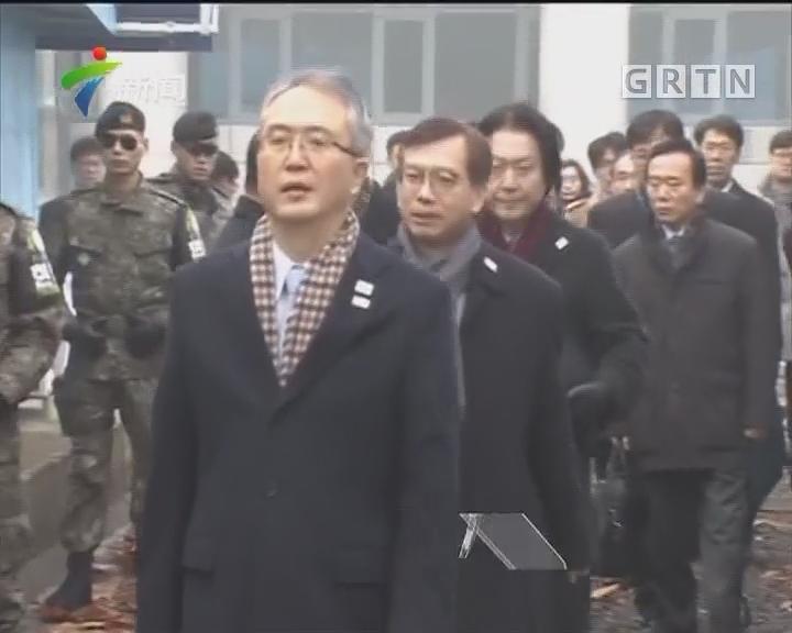 朝韩双方会谈气氛良好