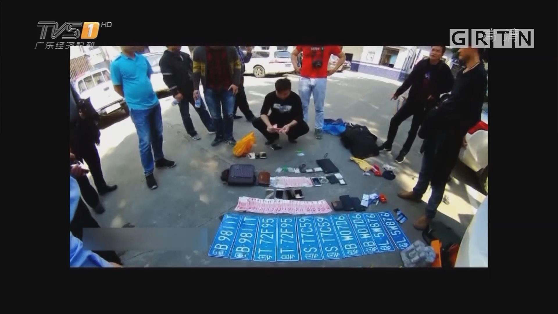 惠州博罗:监控拍到掉包诈骗全过程