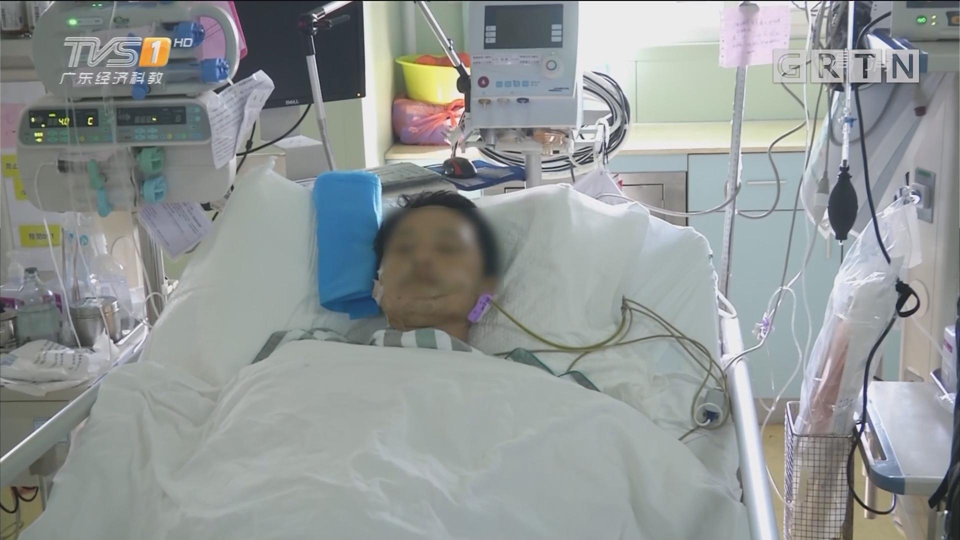 广州海珠:男子遭四根钢筋穿体 八小时手术救人