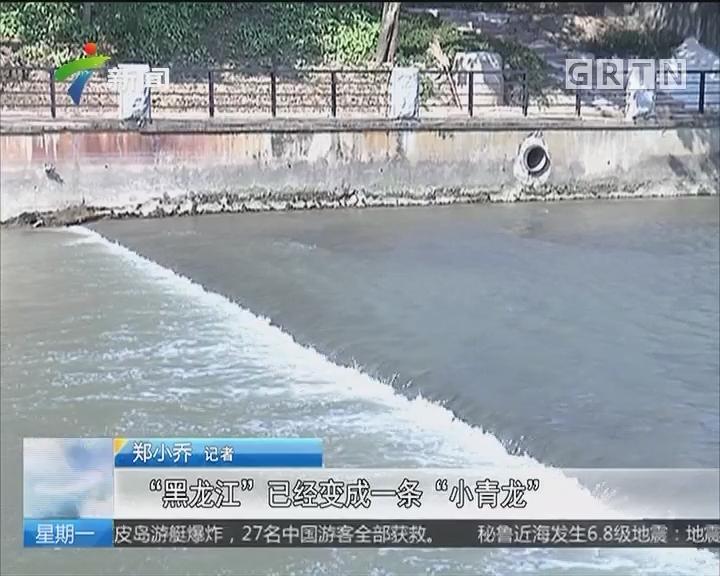 广州治水初见成效 35条河涌消灭黑臭水质