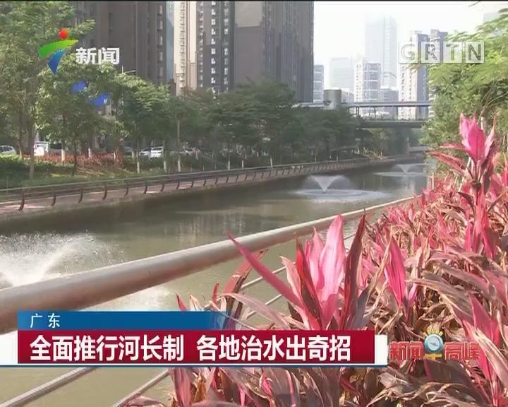 广东:全面推行河长制 各地治水出奇招
