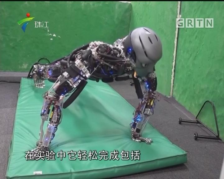 日本:推出能运动会出汗机器人