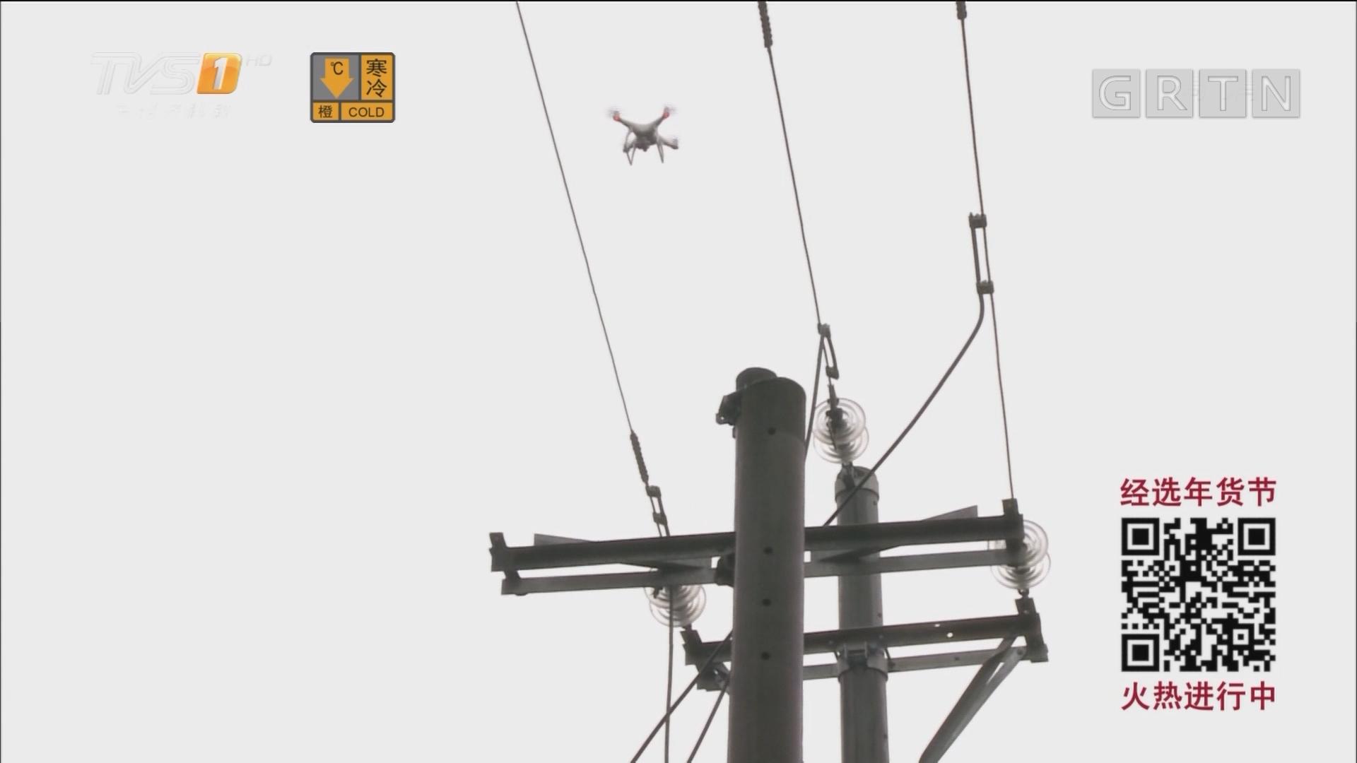 直击寒潮:连州冰雪成灾 供电部门严阵以待