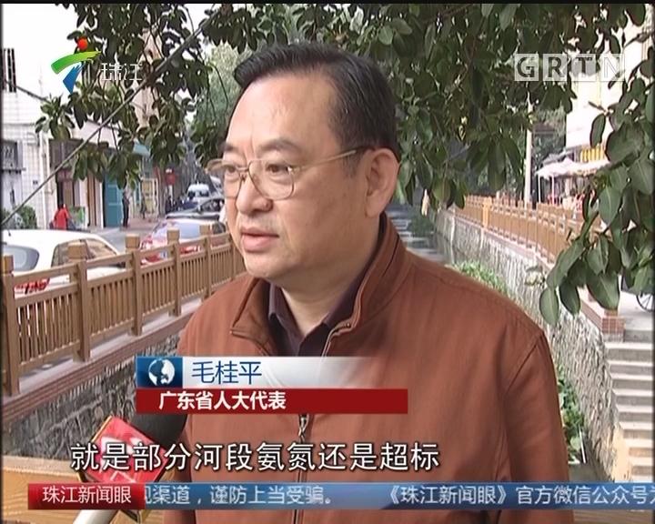 """广东省人大:监督""""四河""""污染整治"""