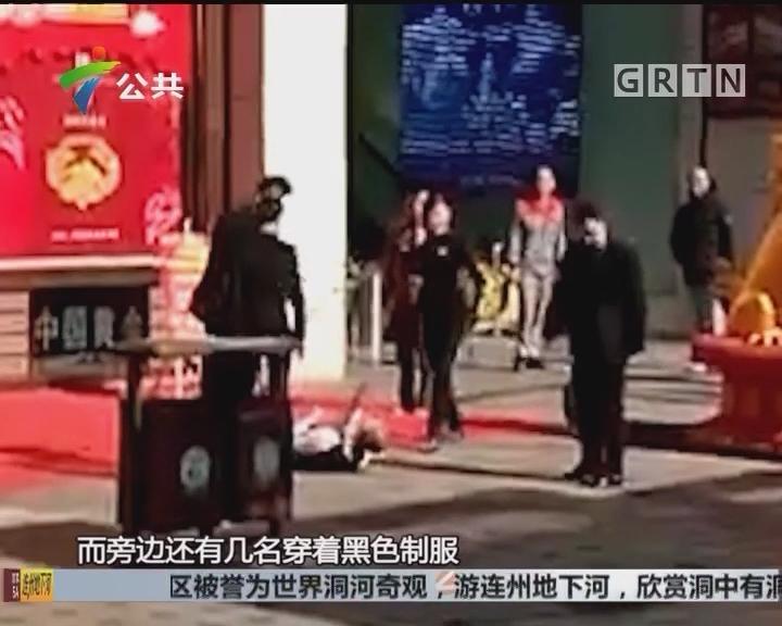 江门:网传有人殴打老人 店铺监控还原真相