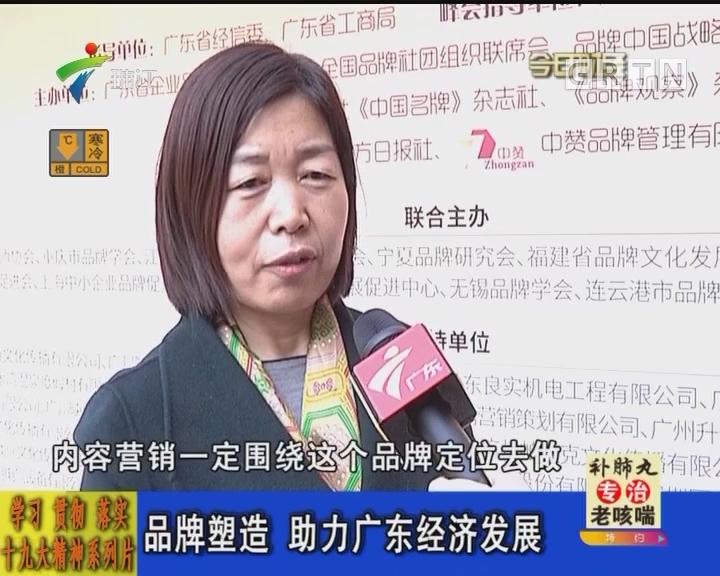 学习 贯彻 落实十九大精神系列片:品牌塑造 助力广东经济发展