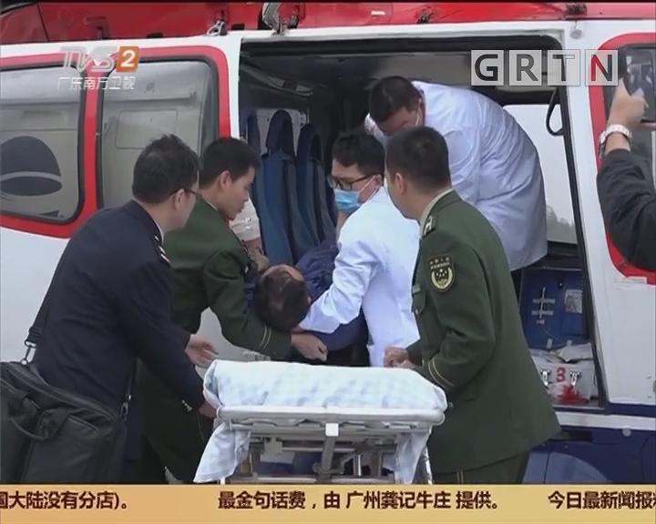 湛江:开通绿色通道 边检跨海营救