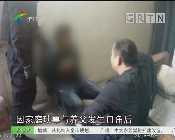 肇庆:杀父疑犯潜逃十年 回家过年终落网