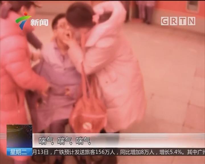 扬州:急救突发晕厥旅客 一把梳子救命