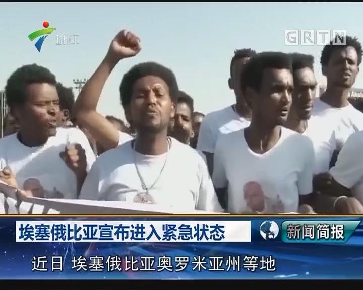 埃塞俄比亚宣布进入紧急状态