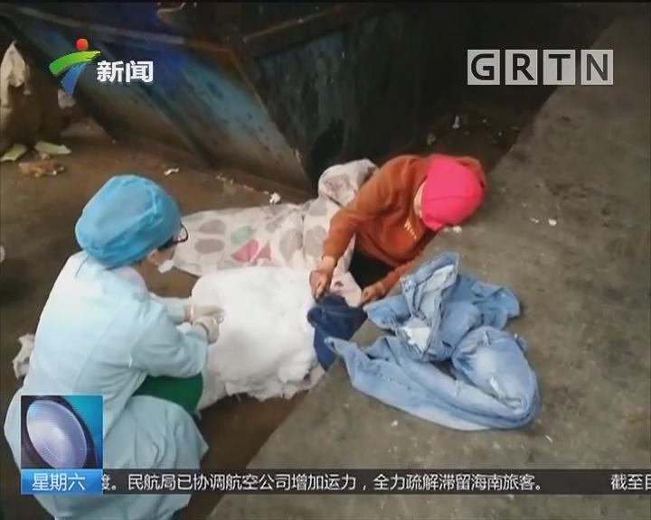 东莞厚街:女子垃圾堆旁产子 医生民警合力抢救