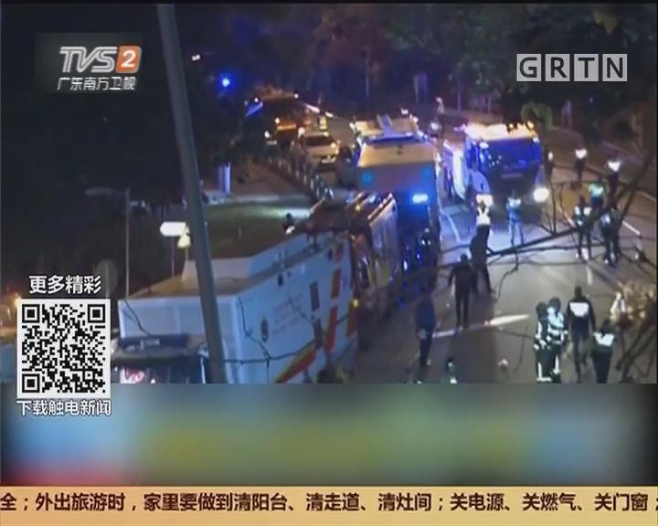 香港大埔:双层巴士车祸致19死63伤