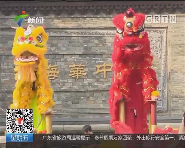 深圳:群狮贺新春