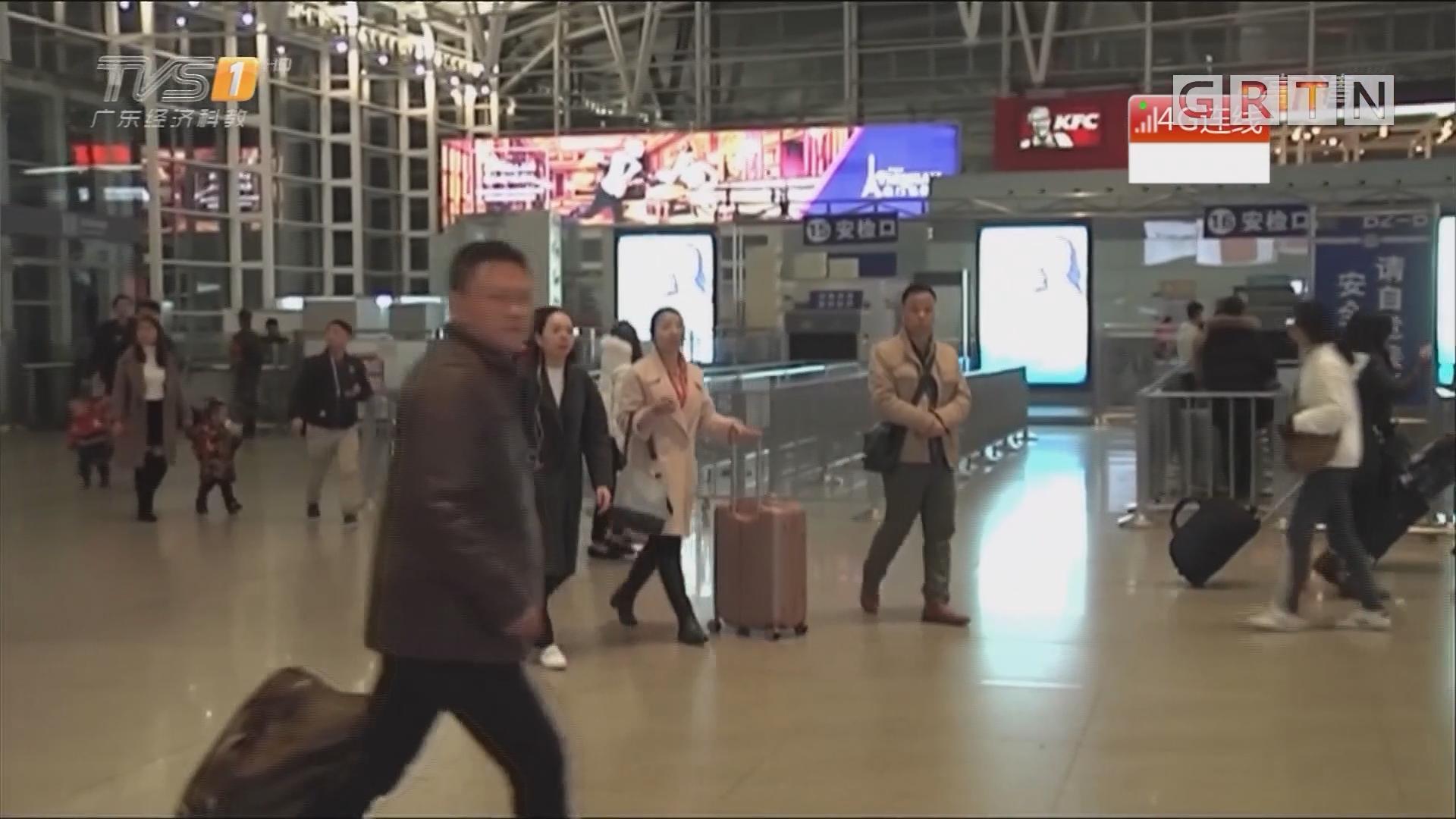 直播连线:广州南站 开启夜间模式 晚间乘客明显增多