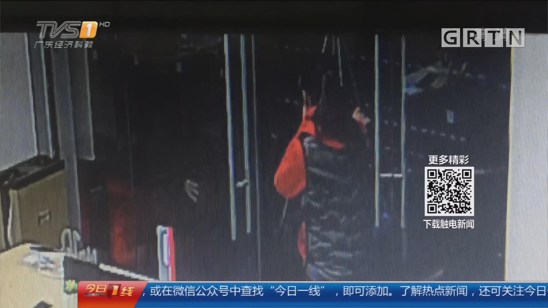 东莞:毛贼喷辣椒水抢手机 民警火速破案