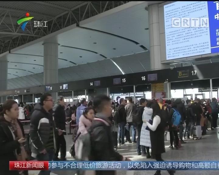 广州:白云机场连日日均客流超20万