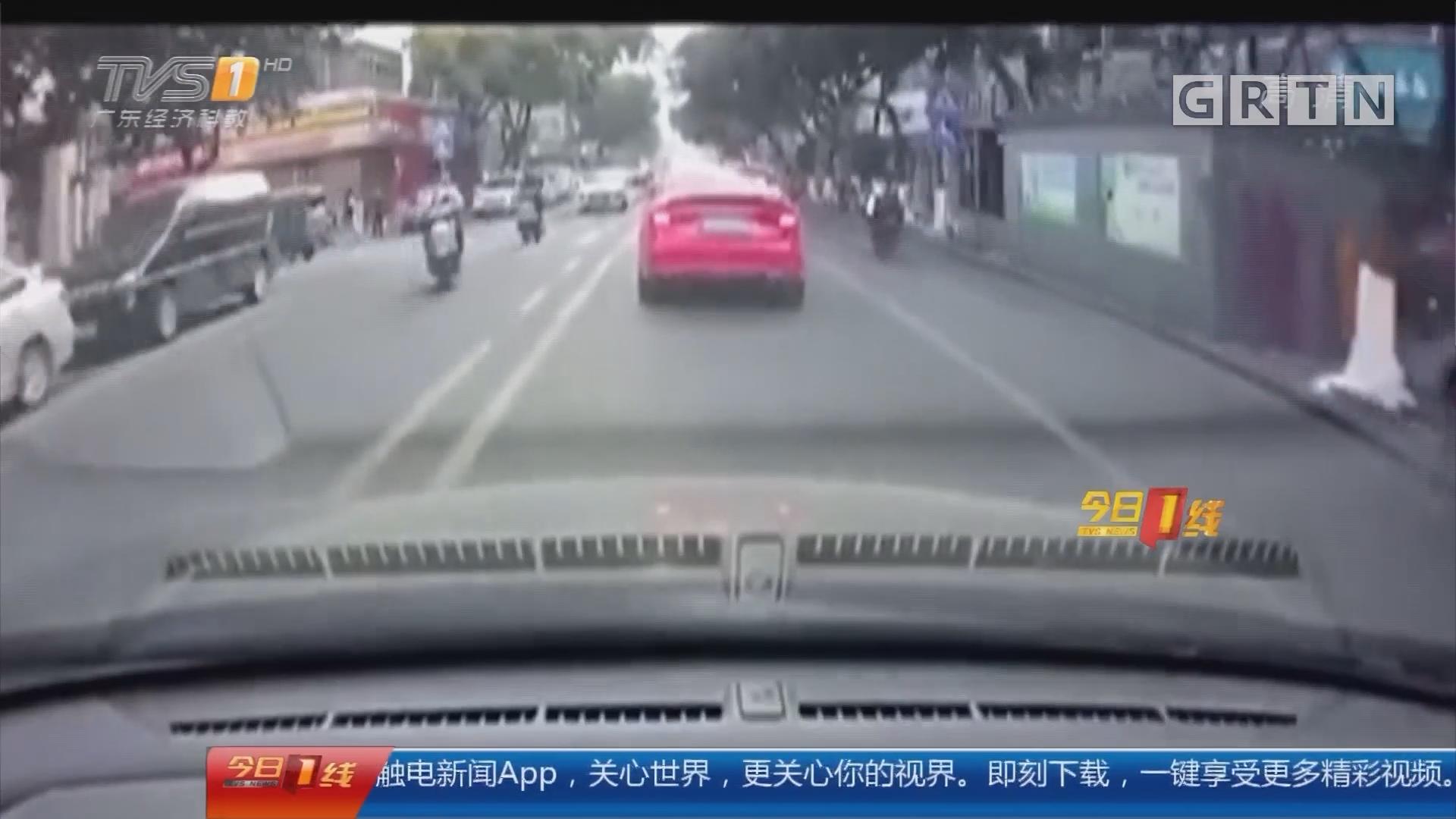 佛山顺德:街头飙车 还发视频网上炫耀
