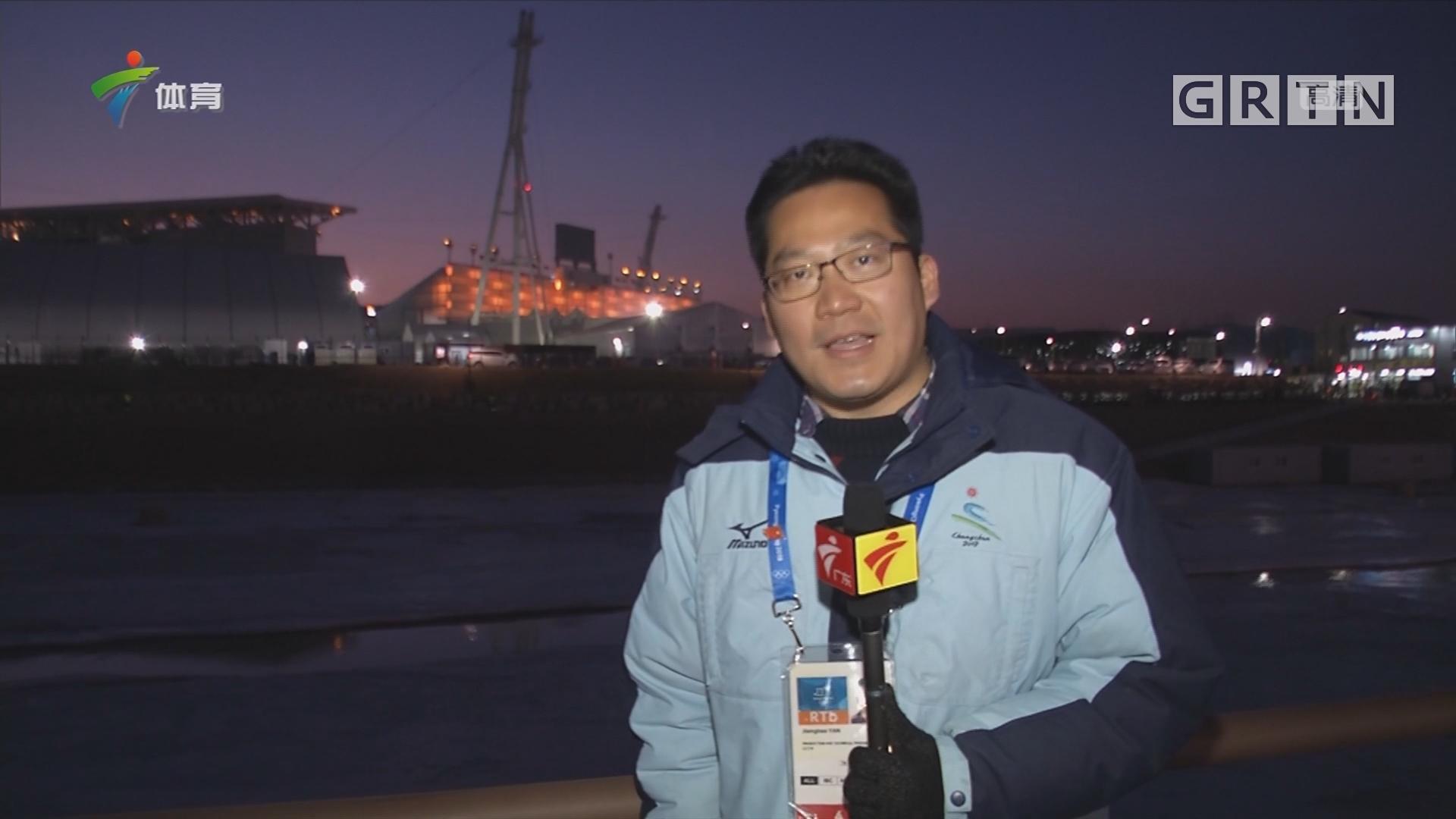 记者现场连线:平昌冬奥会闭幕式