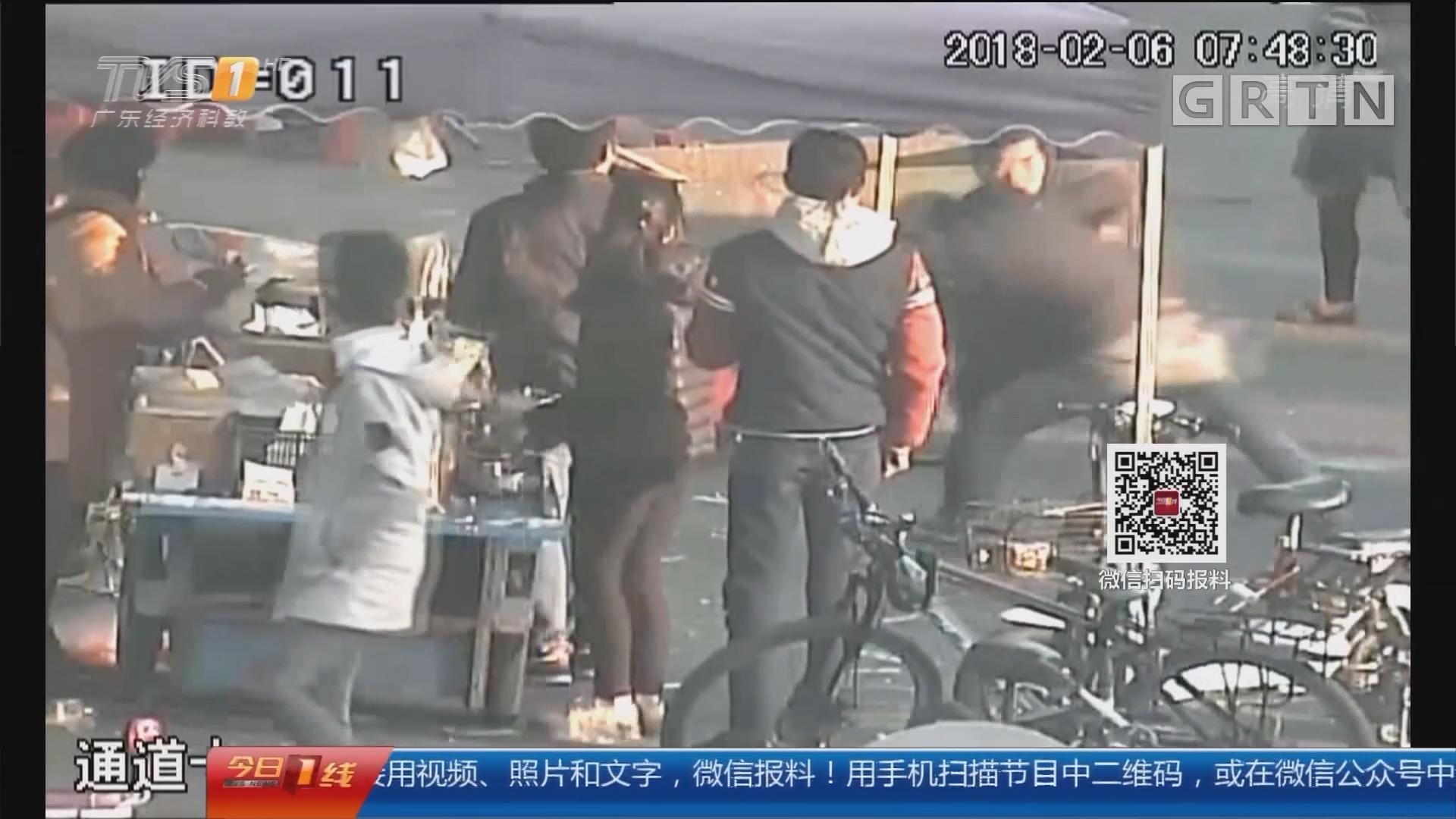 东莞:毛贼三秒偷手机 便衣设伏人赃并获