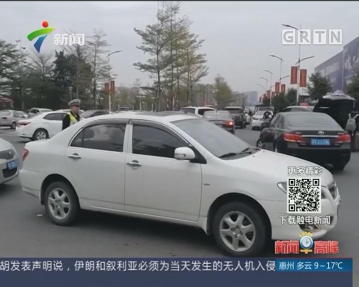 """记者调查:揭阳普宁高铁站外""""黑车""""司机猖狂宰客"""