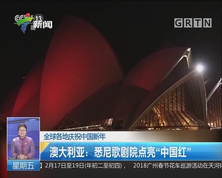 全球各地庆祝中国新年