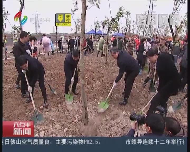 [2018-02-22]六点半新闻:市领导连续十二年举行新春植树活动