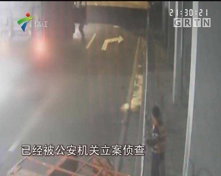 广州:货车撞升降台 致施工男子坠落身亡