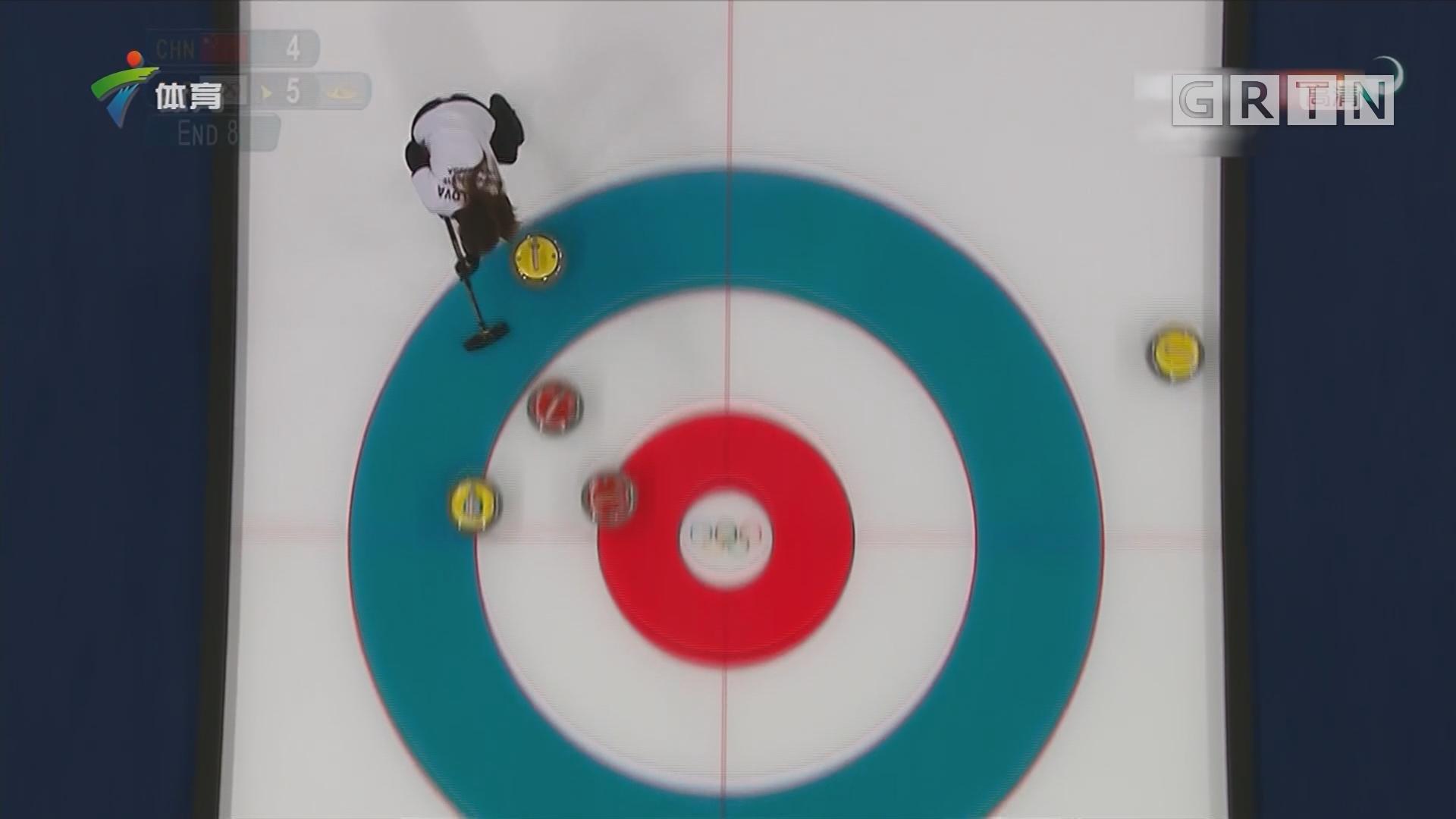 平昌冬奥会冰壶混双 中国队不敌俄罗斯奥运选手