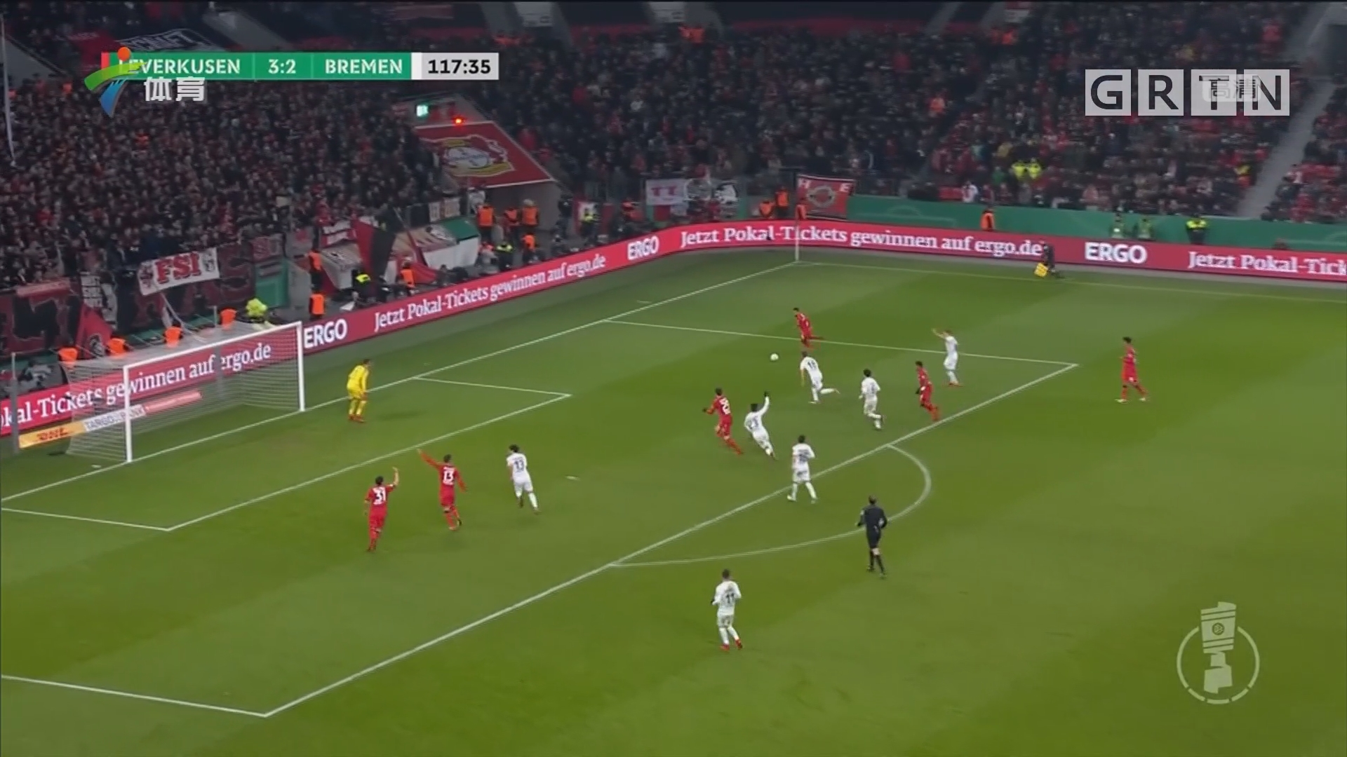 罗本梅开二度 拜仁晋级德国杯四强