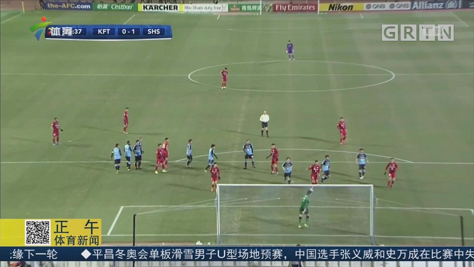 埃尔克森一锤定音 上港客场1球小胜川崎前锋