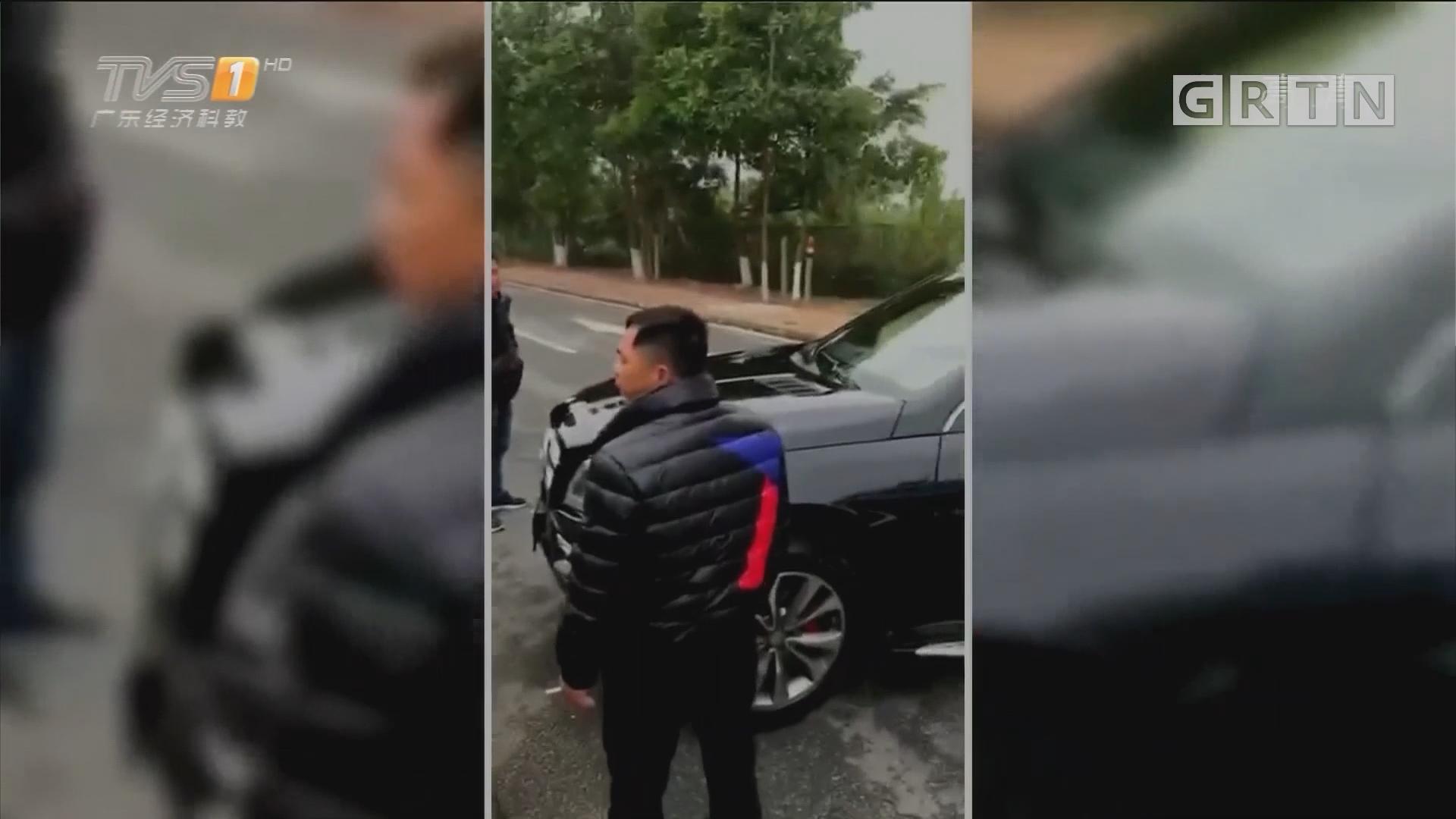 """深圳:强行逼停考试车 """"路怒""""司机为哪般?"""