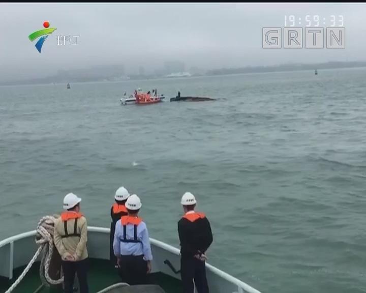 徐闻:两船相碰致5人落水 2人下落不明