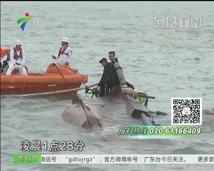 徐闻:海安新港发生船舶碰撞事故