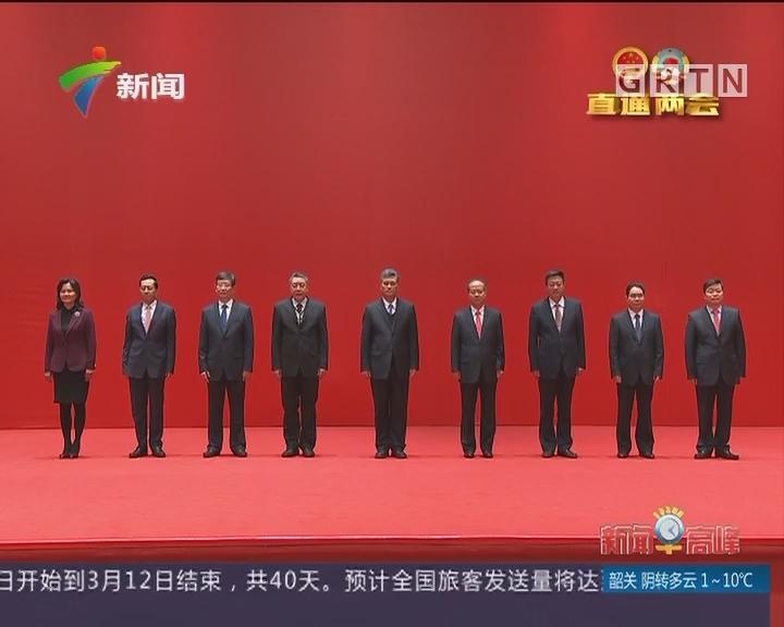 新一届省政府领导班子与记者见面