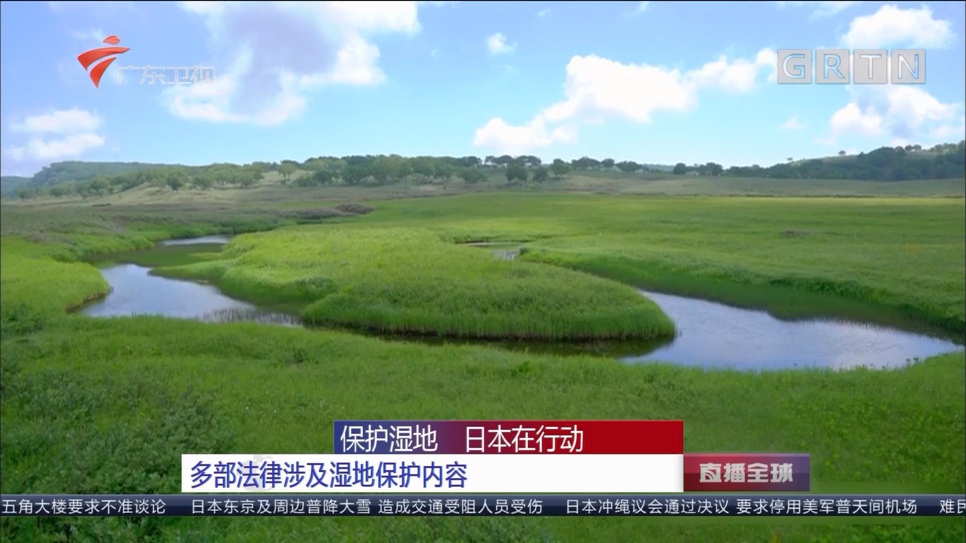 保护湿地 日本在行动 多部法律涉及湿地保护内容