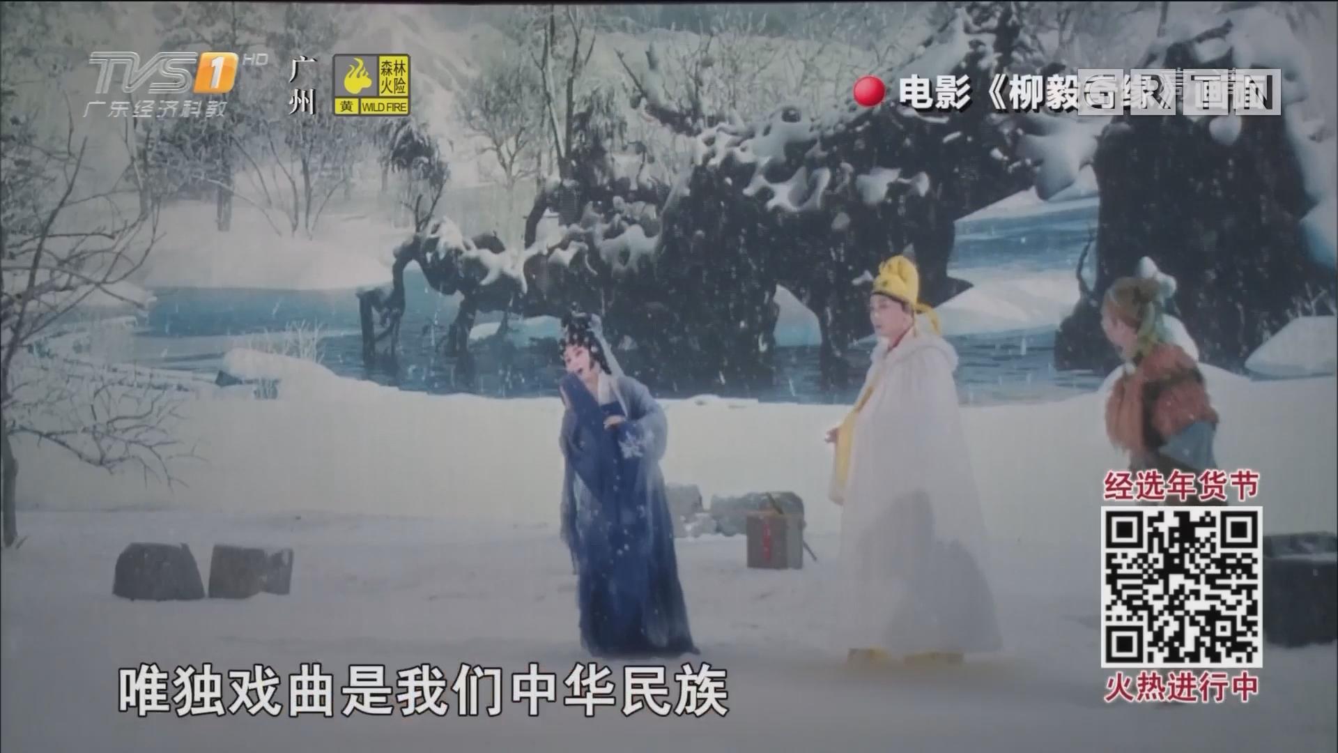 粤剧电影《柳毅奇缘》上映 全国人大代表曾小敏担女主角
