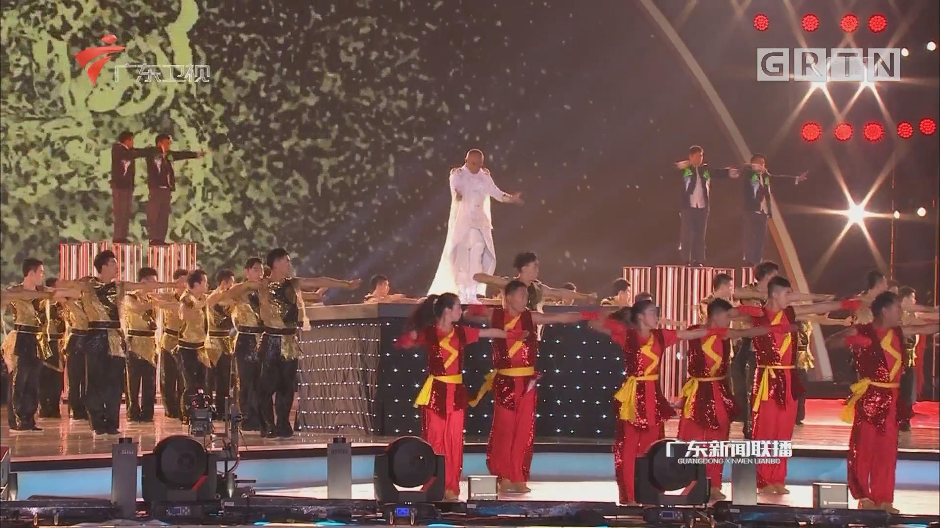 """""""祝福新时代""""广东展播节目登陆央视获各方好评"""